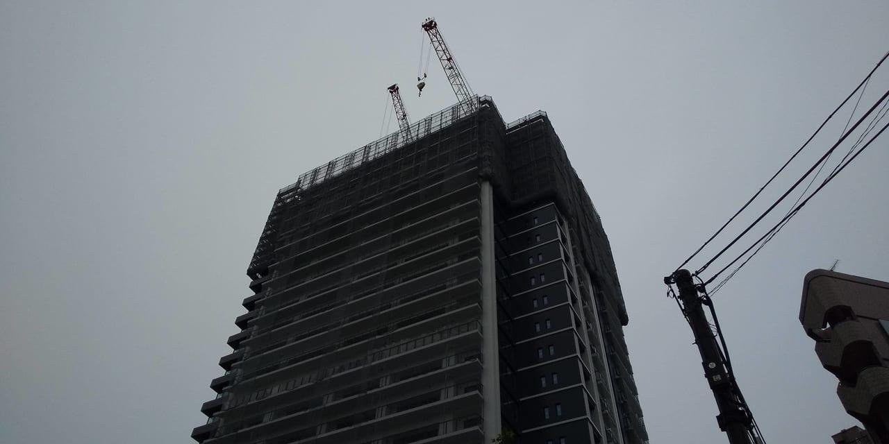 建設中のシティタワー所沢クラッシィ