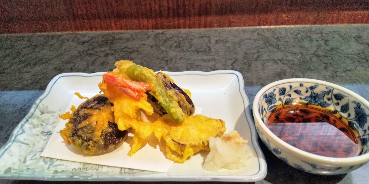 寿司処りんどう天ぷら盛合せ
